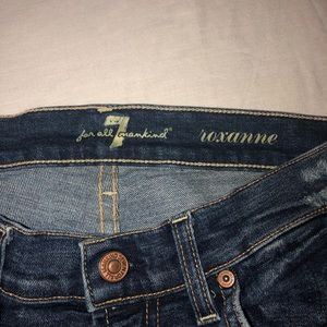 7 For All Mankind Jeans - 7 For All Mankind Roxanne Skinny Jean Size 27